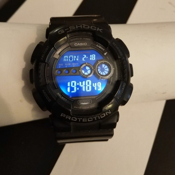f4eb5f9ed G-Shock Accessories | Casio Gshock Digital Watch 3263 Gd100 Black ...